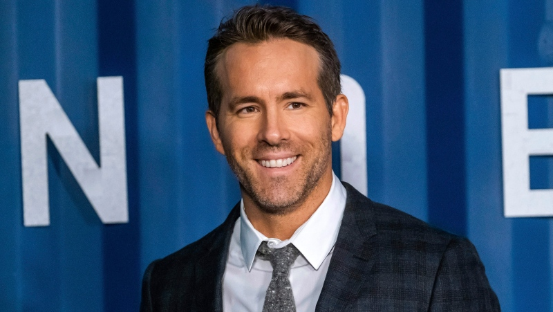 "Ryan Reynolds is pictured in this file photo attending the premiere of Netflix's ""6 Underground"" at The Shed at Hudson Yards on Tuesday, Dec. 10, 2019, in New York. (Photo by Charles Sykes/Invision/AP)"