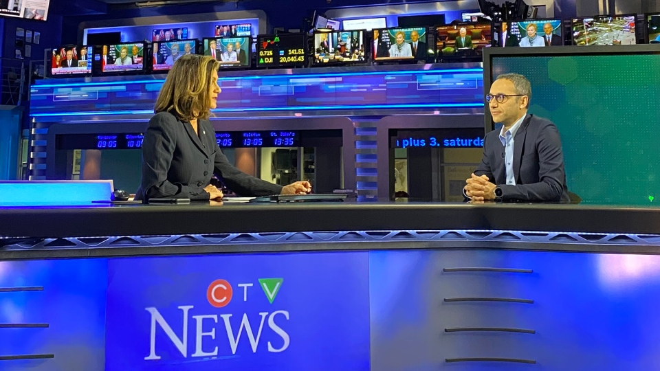 Dr. Abdu Sharkawy joins Chief News Anchor and Senior Editor Lisa LaFlamme for a CTV News special,