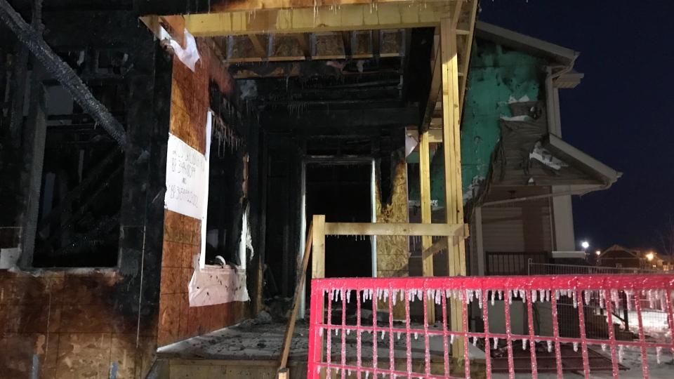 Griesbach fire, front door