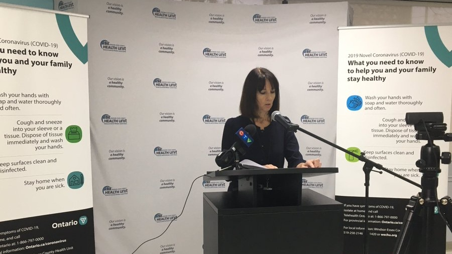 Chief Executive Officer/Chief Nursing Officer Theresa Marentette in Windsor, Ont., on Tuesday, March 24, 2020. (Ricardo Veneza / CTV Windsor)