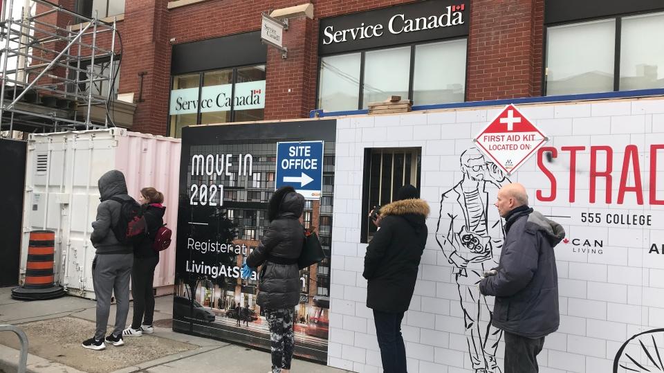 Service Canada, COVID-19