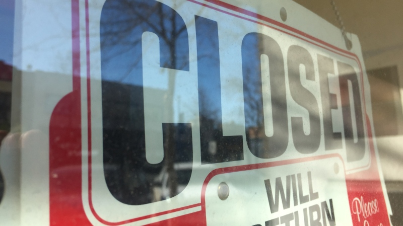 Many businesses in the city are closing or operating under reduced hours in response to COVID-19.
