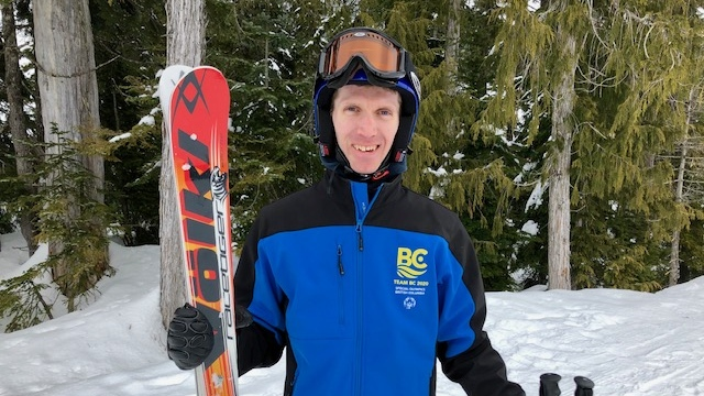 B.C. skier Cory Duhaime won three gold medals at the national games in Ontario after recently battling cancer. (Provided)