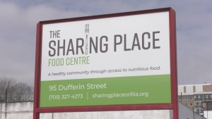 The Sharing Place in Orillia  (Lexy Benedict/CTV News)
