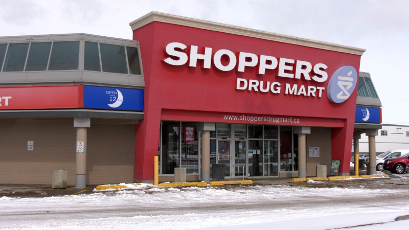 A Shoppers Drug Mart location in Saskatoon.