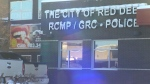 Red Deer RCMP building