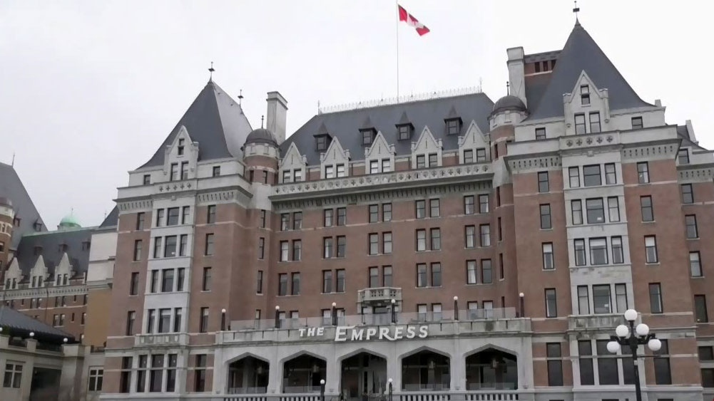 Empress Hotel closes due to COVID-19
