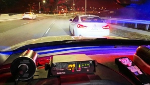 Police released a photo after a driver was allegedly caught speeding in Vaughan on March 24. (Handout)