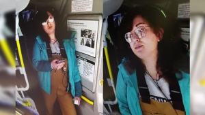 Guelph Police Service are looking to speak to this woman in connection to an assault on a bus driver. (Source: Guelph Police Service)