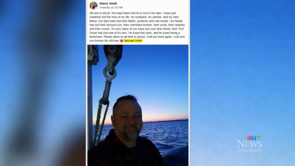 OPP search for man who went missing while fishing