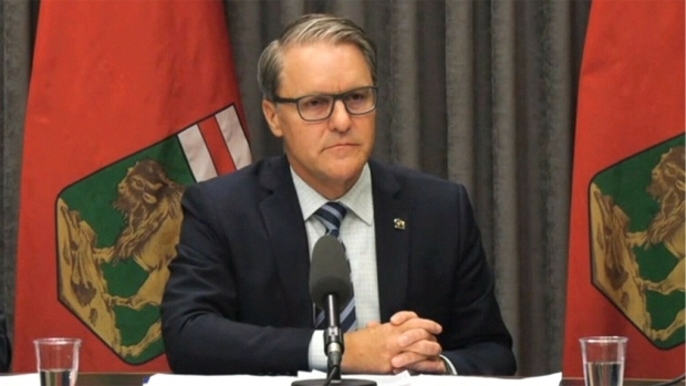 Health Minister Cameron Friesen (file photo)