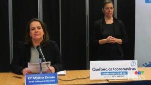 Montreal public health director Mylene Drouin