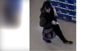 Longueuil police are asking the public to be on the lookout for a young man who allegedly robbed a Super C on Tascherau Blvd. Feb. 18, 2020, and assaulted a security guard. SOURCE SPAL