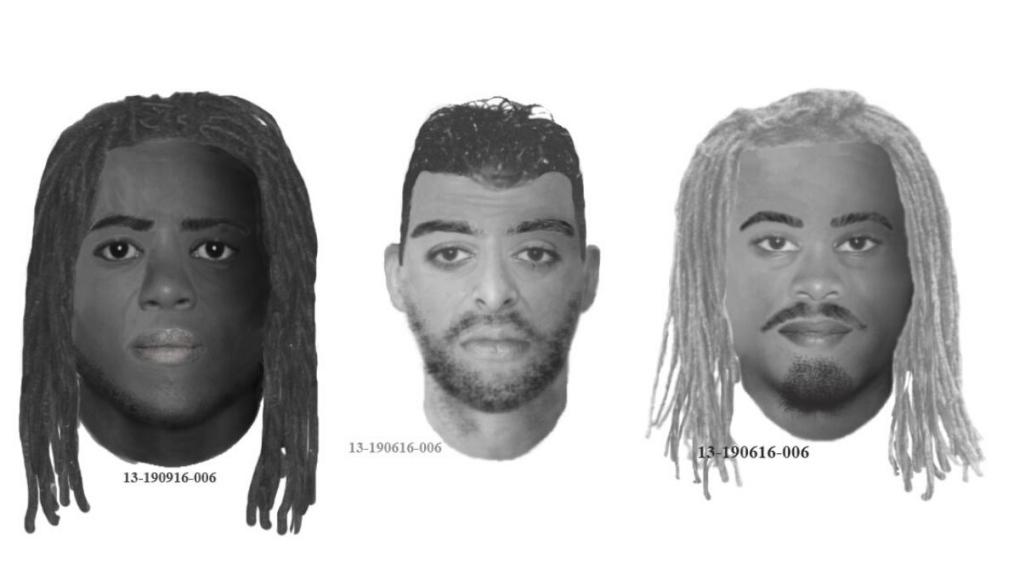 Three suspects in murder