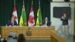 Sask. tightens rules after new cases