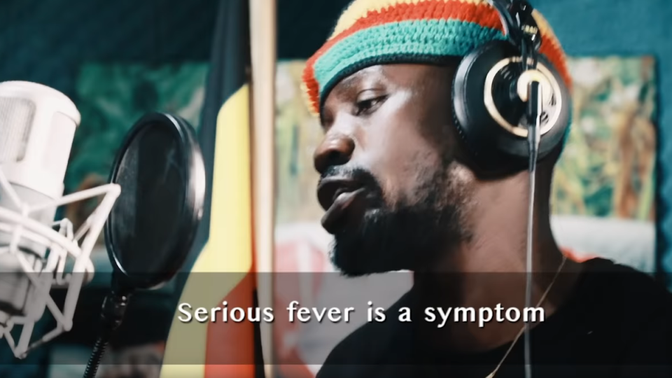 Bobi Wine and Nubian Li coronavirus song