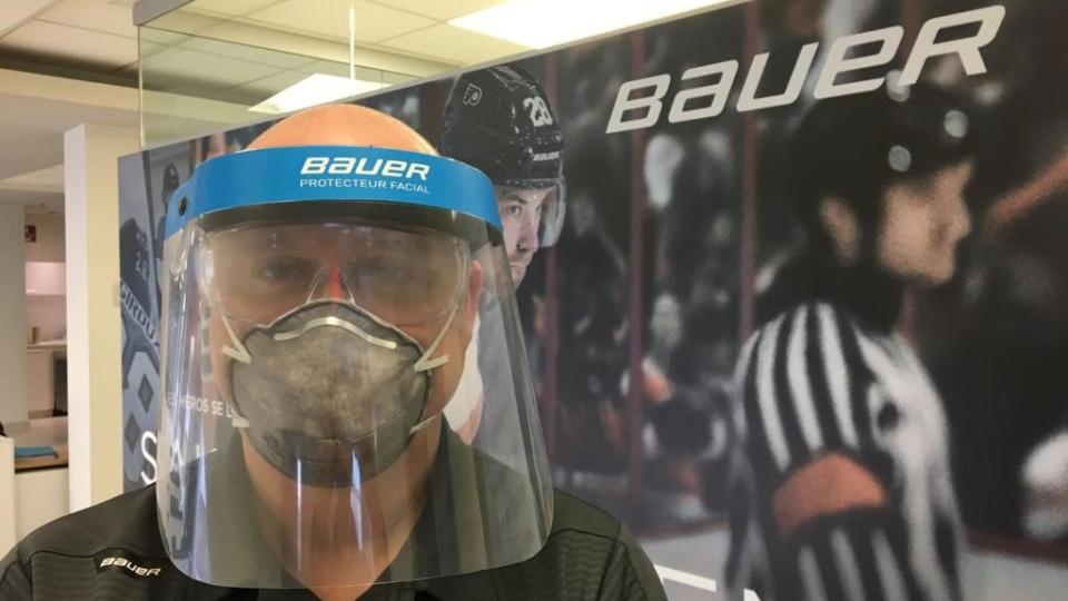Bauer mask