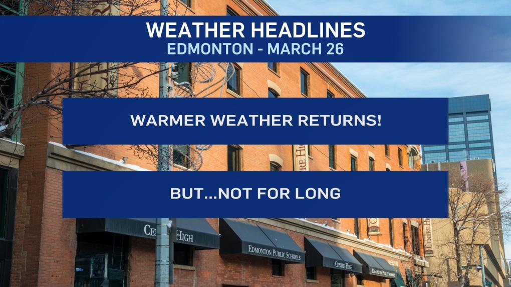 March 26 weather headlines