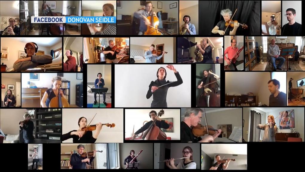 CPO, Edmonton Symphony, orchestra, self-isolation