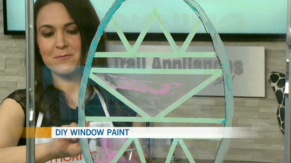 Carla Turner, DIY window paint