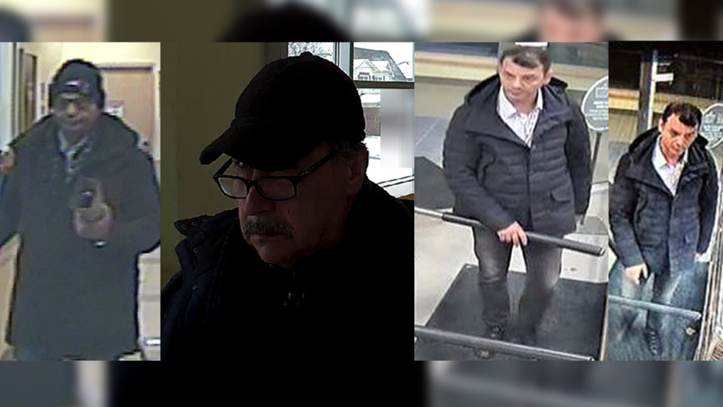 LCBO shoplifting suspects