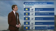 Rain and snow ending Thursday afternoon