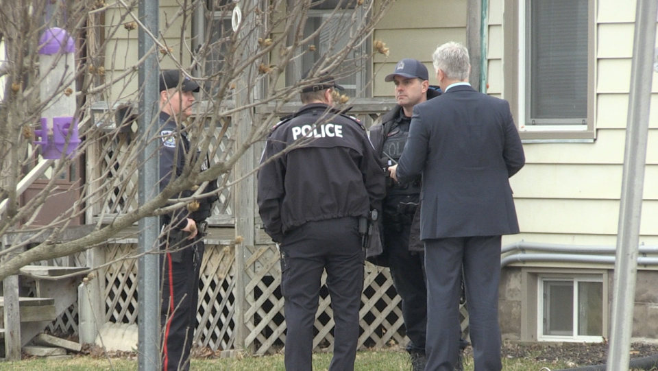 St. Thomas Police investigate a shooting on John S