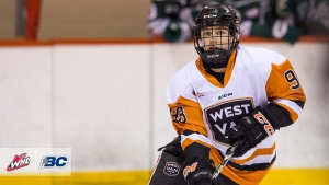 "The Regina Pats will pick Connor Bedard first overall in the 2020 WHL Bantam Draft. Bedard is the first western Canadian hockey player granted ""exceptional status"" (Source: WHL.ca/Garrett James/CSSHL Media)"