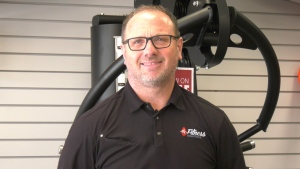 Gary Banerd, owner of Fitness Solutions in Saskatoon. (Carla Shynkaruk/CTV Saskatoon)