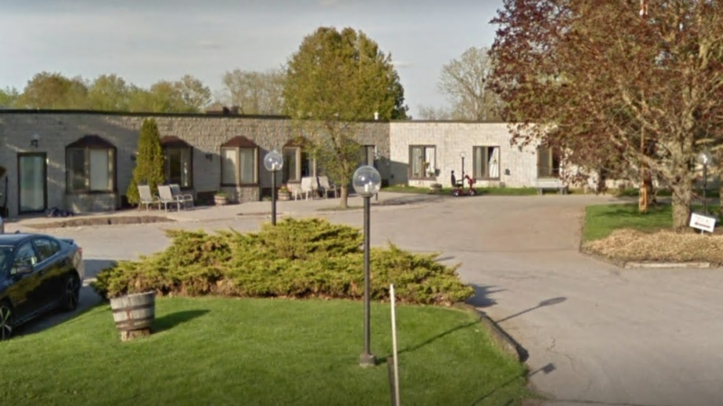 The Pinecrest Nursing Home in Bobcaygeon, Ont. is shown in an undated Google Streetview image.