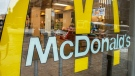 An empty McDonald's restaurant is seen Tuesday, March 17, 2020 in Montreal. They are one of many restaurants that have closed their dining areas and offering only takeout or delivery due to the COVID-19 outbreak. THE CANADIAN PRESS/Ryan Remiorz