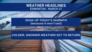 Weather headlines, March 27