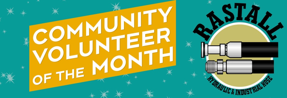 Community Volunteer of the Month header