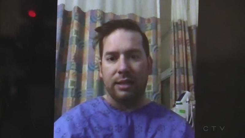 Michael Loiselle speaks about COVID-19 from his hospital bed