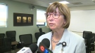 CKHA president and CEO Lori Marshall in Chatham-Kent, Ont. (Chris Campbell / CTV Windsor)