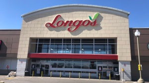 The Longo's store at Weston and Rutherford roads is pictured above. (Sean MacInnes/ CTV News Toronto)