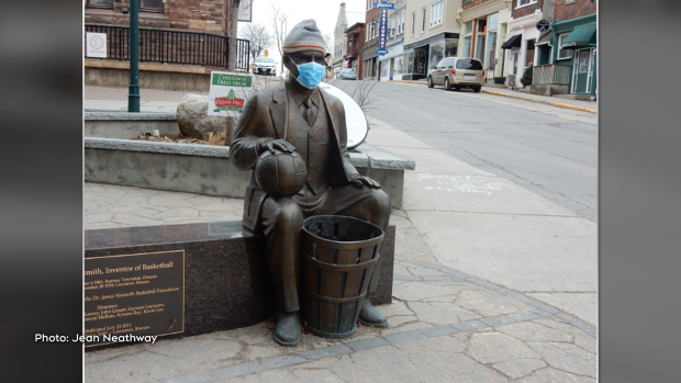 Protect yourself as Almonte's James Naismith has done. (Jean Neathway/CTV Viewer)
