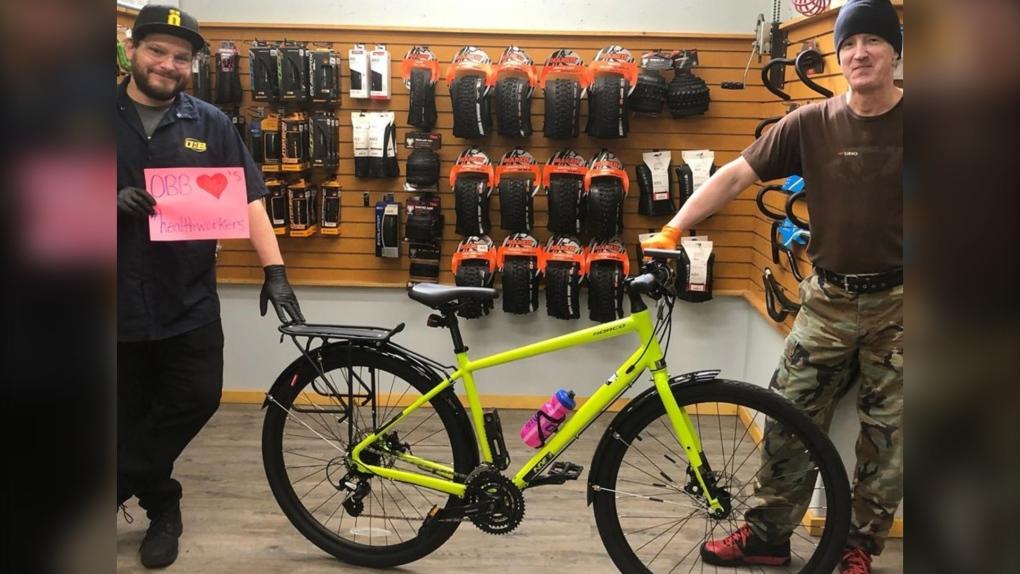 Oak Bay Bicycles bike
