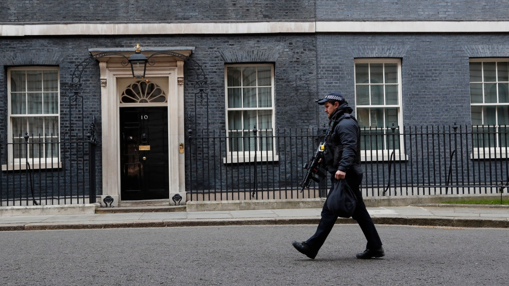 London under lockdown