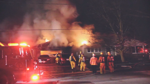 A suspicious fire in  Clinton on Rattenbury Street West claimed the life of three dogs on Friday, Mar. 27, 2020. (Source: Deke Snow)