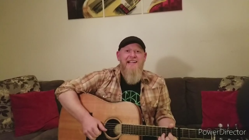 In today's Bright Spot, Sault Ste. Marie musician Jay Case performs an acoustic version of The Beatles' 'Here Comes the Sun' from his couch. (CTV Northern Ontario)