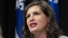 Quebec Deputy Premier and Public Security Minister Genevieve Guilbault. (CP file photo)