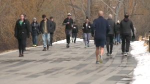 Mayor Nenshi says the city has noticed several pathways in Calgary have gotten too crowded, so they are taking steps to ensure it doesn't happen anymore.