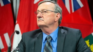 Ontario's top doctor, David Williams, is seen in this photo. (The Canadian Press)