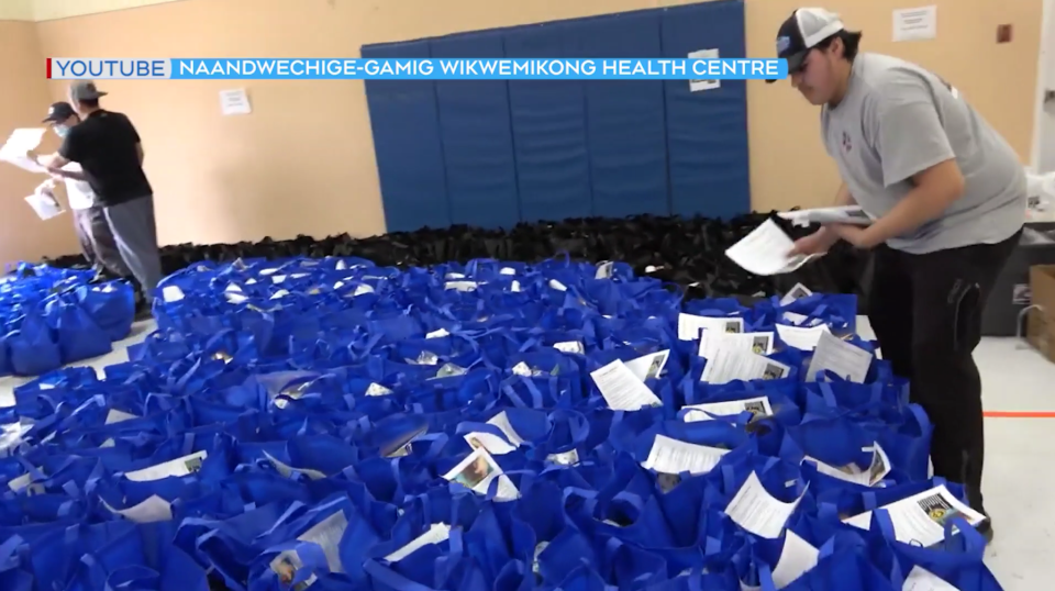 Wiikemkoong First Nation care packages