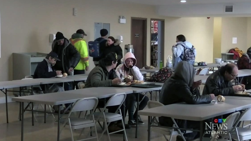 N.B. shelters adjust to physical distancing