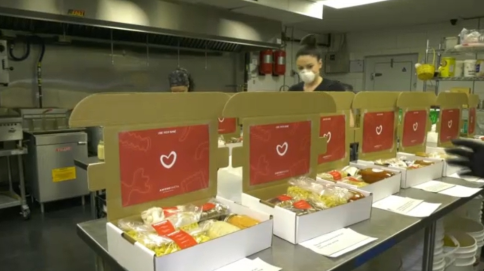 Amore Care Relief Packages.