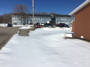 In New Waterford, N.S., a fire at the Curran Court seniors' complex resulted in the death of one person and the displacement of approximately 30 residents.