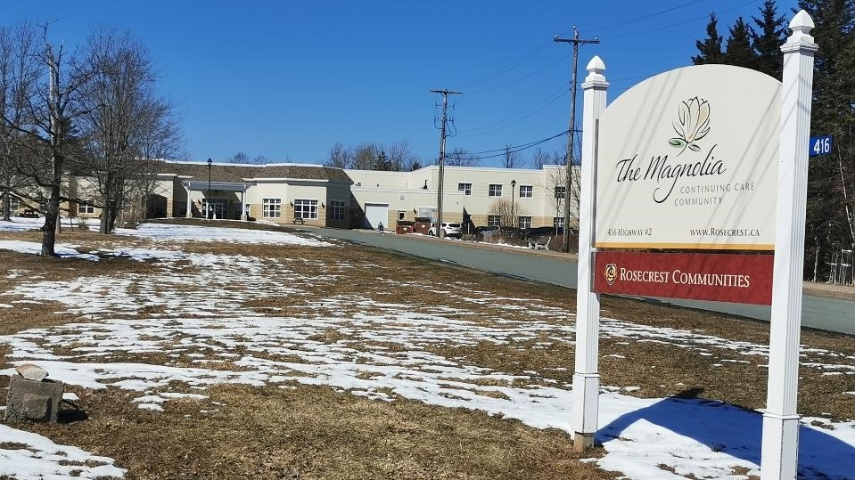 A confirmed case of COVID-19 involves a non-resident at the Magnolia residential care home in Enfield, N.S., the third positive case involving a long-term facility in the past two days.