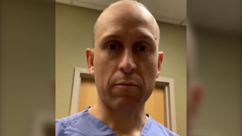 In a video posted to YouTube, Dr. Sean Wormsbecker said when people arrive at the hospital with COVID-19 symptoms but are breathing normally and considered clinically stable, he is sending them home and asking that they self-isolate for 14 days.